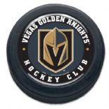 Vegas Golden Knights Commemorative NHL Puck